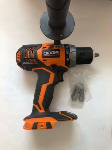 RIDGID R86008B 18 Volt Cordless Drill New