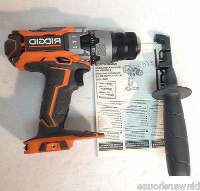 Ridgid R8611503 NEW GEN5X 18V Lithium Hammer Drill with Belt