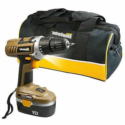 "Shop Series Rockwell 12 Volt 3/8"" Cordless Drill"