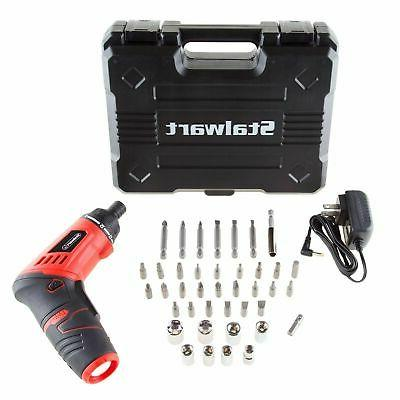 rechargeable cordless screwdriver socket set