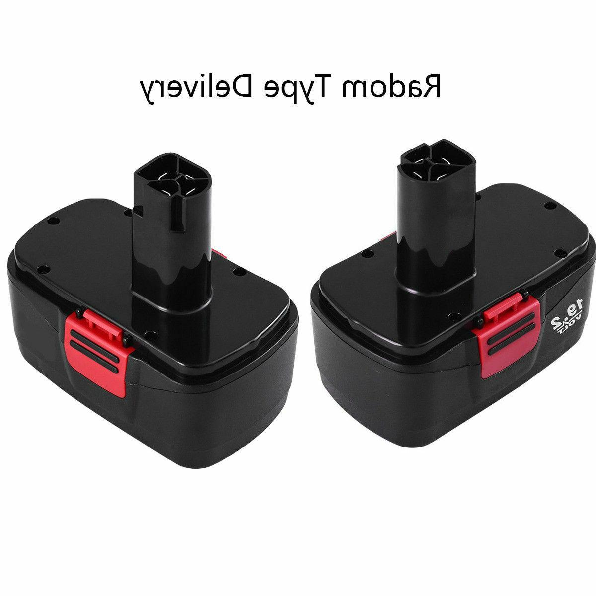 2-Replacement for Craftsman 19.2V Battery 2000mAh 130279005 11376