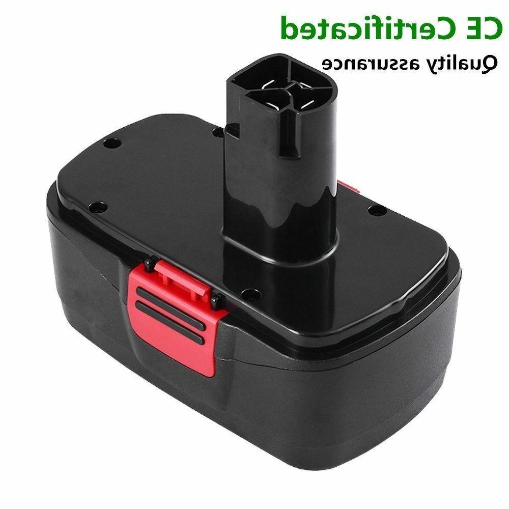 2-Replacement for Craftsman Battery 2000mAh 130279005 11375 11376