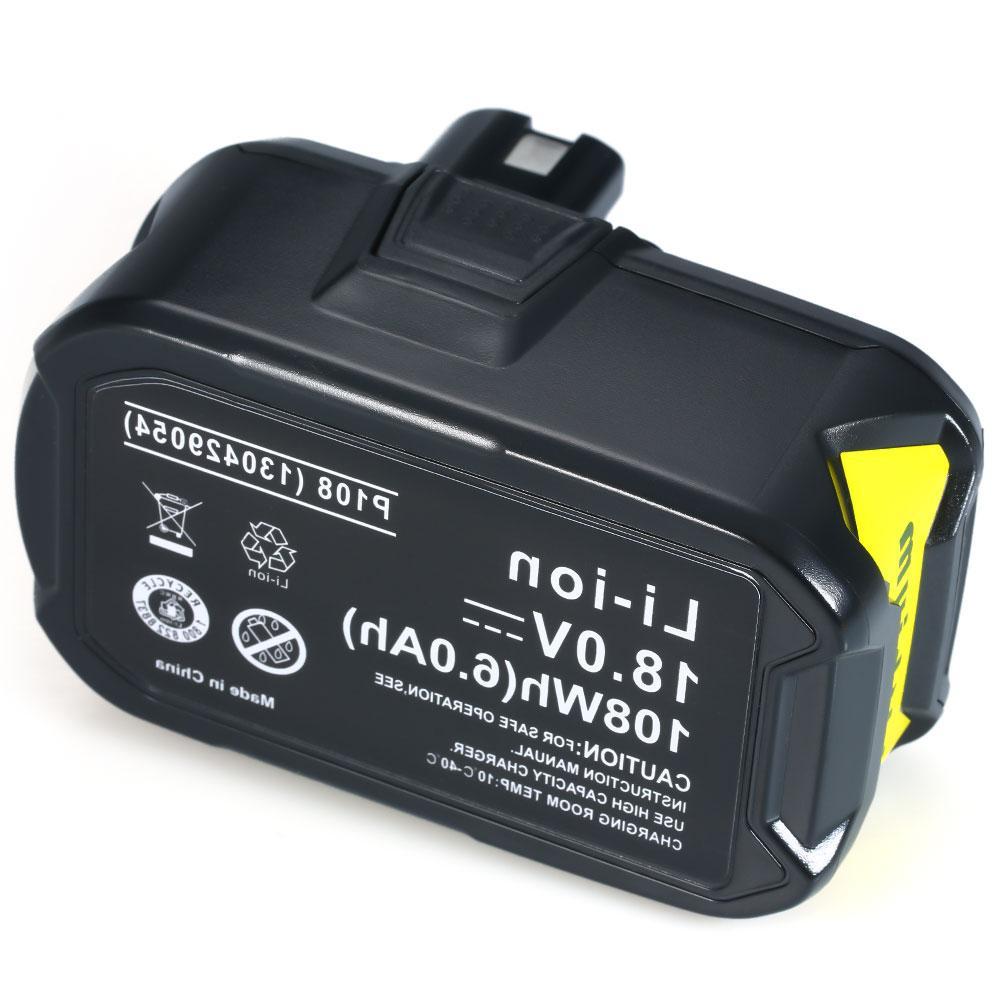 Replacement for Ryobi /P108 Kit