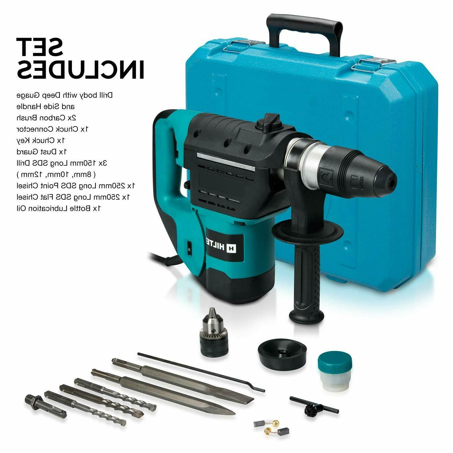 Rotary Hammer Drill Degree Swivel Bits Flat Point