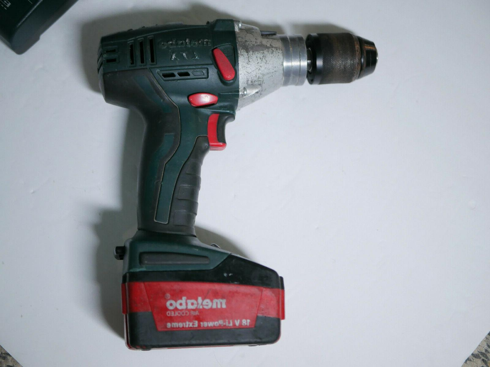 Metabo 18 LTX Cordless Made in Charger