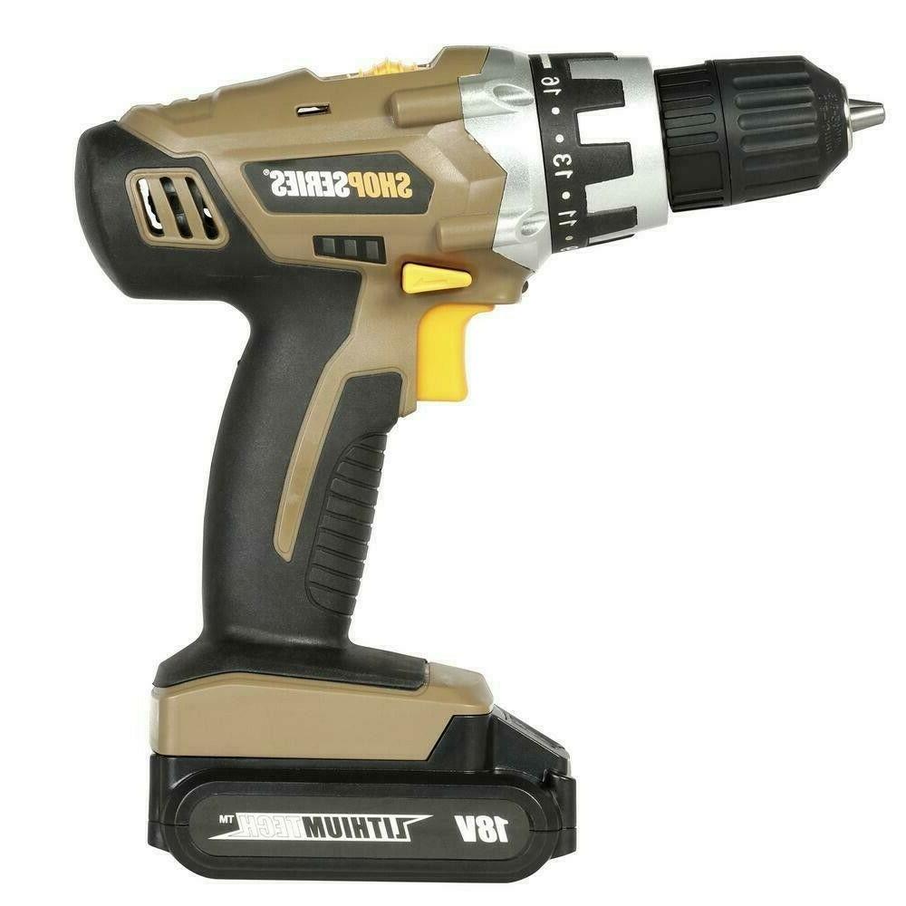 shopseries Rockwell SS2800 18V Li-Ion Drill Kit