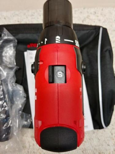 """Snap-on™•CDR8815•18Volt•1/2"""" Drill/Driver•Tool & Bag Only•New"""