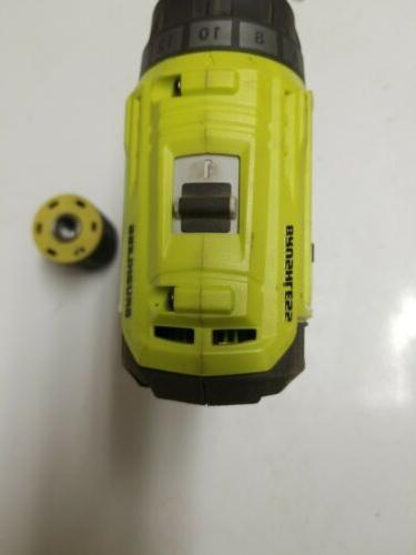 WORKS FOR PARTS ONLY. Ryobi 18-Volt Cordless