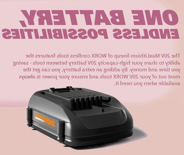 WORX PowerShare Driver Batteries
