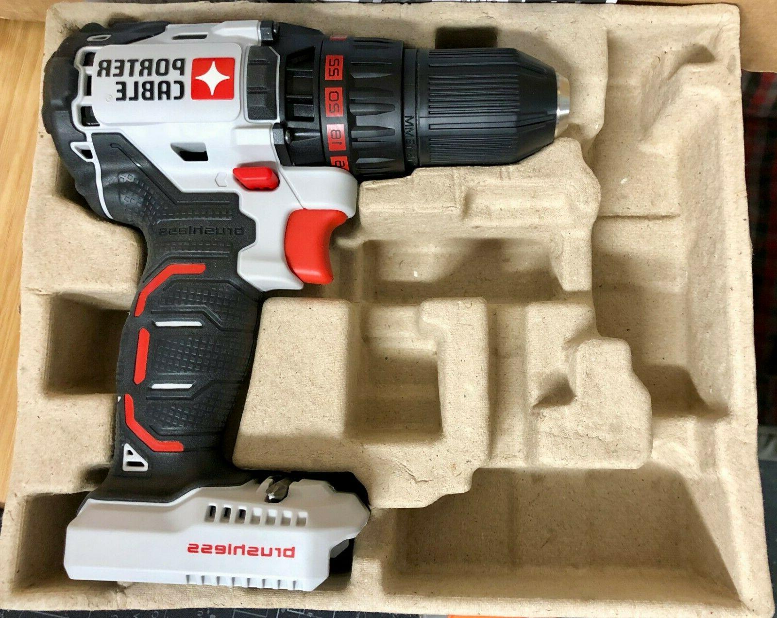 "Brushless Drill Driver PCC608 20V 1/2"" Body ONLY"