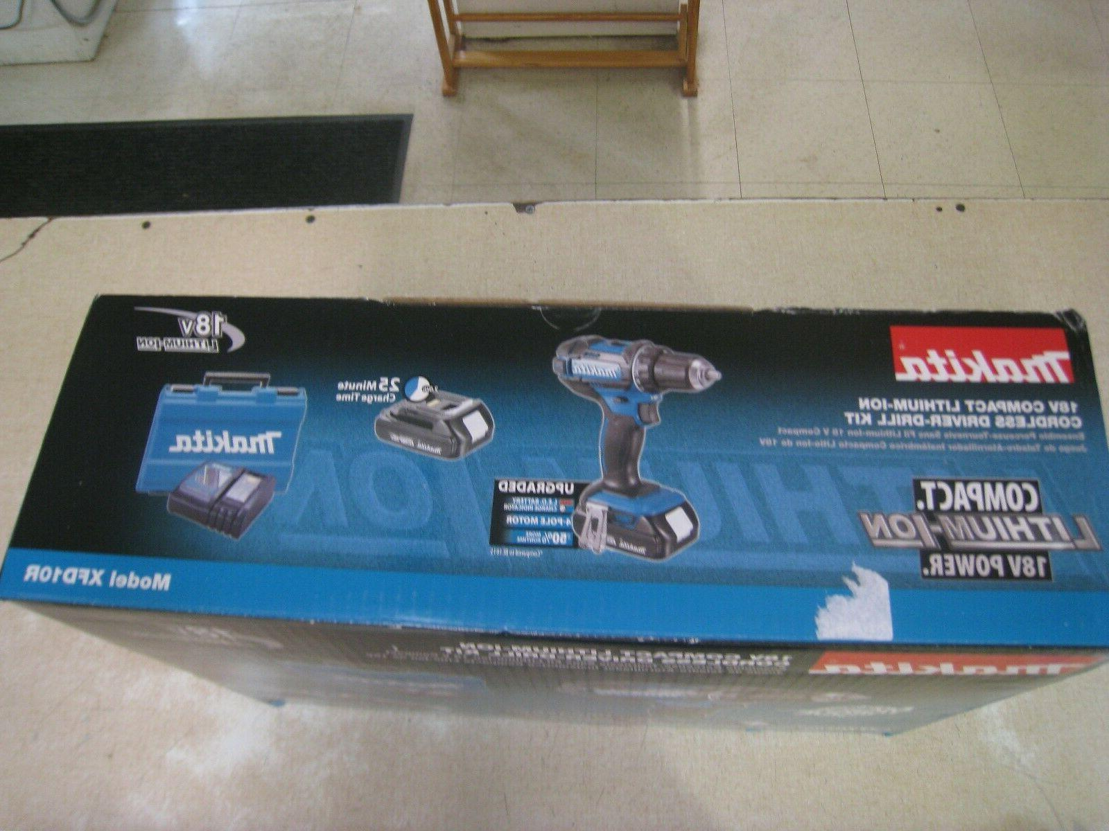 "Makita 18V 1/2"" Driver/Drill Kit"