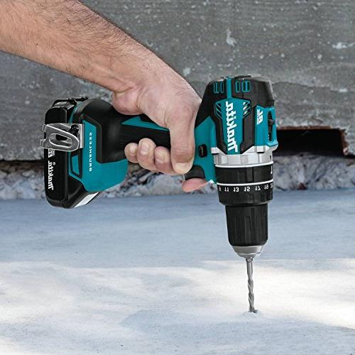 "Makita XPH12R 18V Lithium-Ion Brushless 1/2"" ,"