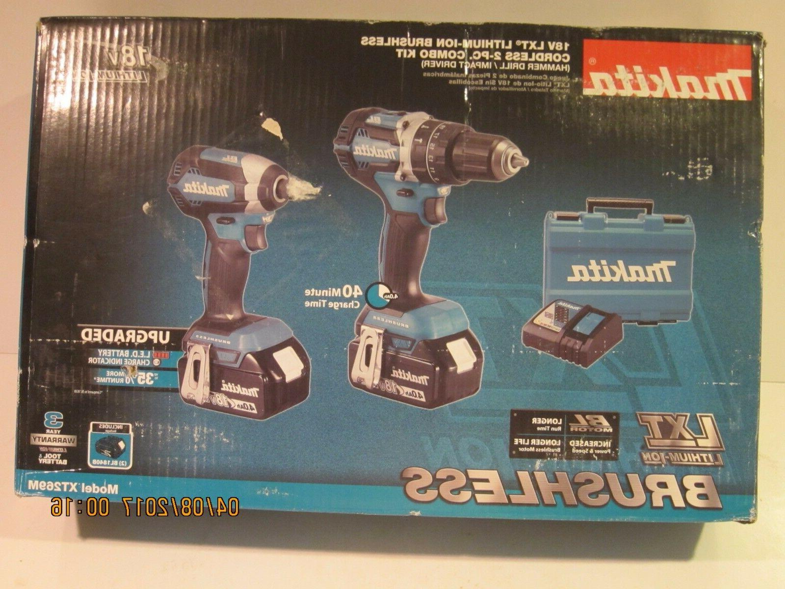 Makita 18V BL Combo Kit