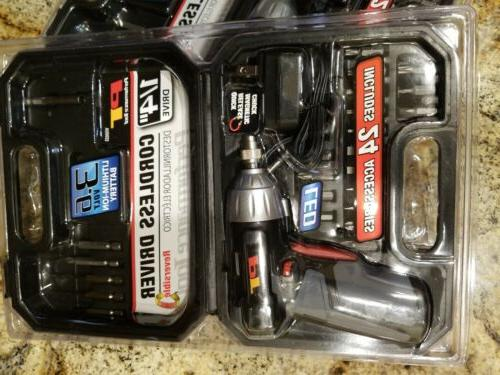 YOU GET 2 Performance Tools W50033 Drivers 3.6 Volt