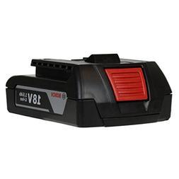 BOSCH Li-Ion Battery BAT 611 18V 1.5Ah 27.0Wh Lithium Ion Sl