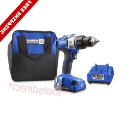 Lithium Battery Cordless Drill Power Tool Combo Kit With Bat