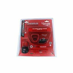 Milwaukee 48-59-2420 M12 2.0 Red Lithium Starter Kit