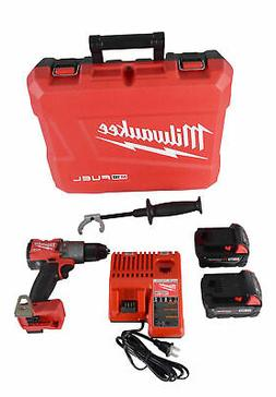 Milwaukee M18 Fuel 2804-22 18V Li-Ion Cordless 1/2 in. Hamme