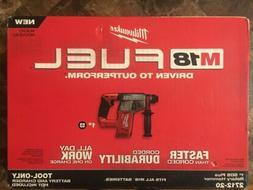 "M18 FUEL 1"" SDS Plus Rotary Hammer 2x 9.0 batts Milwaukee 27"