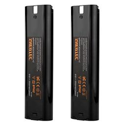 Shentec 2 Pack 3000mAh 9.6V Battery Compatible with Makita 9