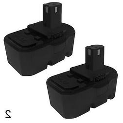 Mighty Max 2 Pack - 18V Replacement Battery for Ryobi 18 Vol