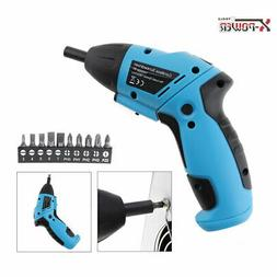 Mini Battery Operated Cordless Electric Screwdriver Drill Po