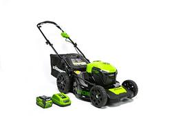Greenworks 20-Inch 40V 3-in-1 Cordless Lawn Mower with Smart