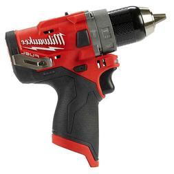 New Milwaukee 12 Volt M12 FUEL Brushless Hammer Drill Bare T