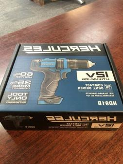 NEW • Hercules 12V Lithium Cordless 3/8 in. Compact Drill