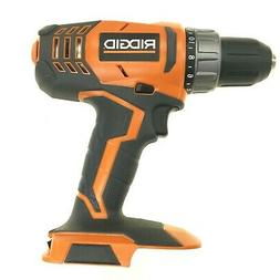 "NEW RIDGID 18 VOLT LITHIUM-ION 1/2"" COMPACT CORDLESS DRILL /"