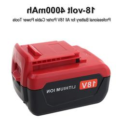 New 18V 4000mAh Lithium ion Battery for Porter Cable 18V PC1