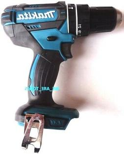 "New Makita 18V XPH10 Cordless 1/2"" Battery Hammer Drill Driv"