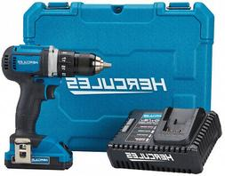 **NEW Hercules 20V Lithium Cordless 1/2 In. Compact Drill/Dr