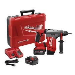 """Milwaukee 2715-22 M18 Fuel 1-1/8"""" SDS Plus Rotary Hammer Kit"""