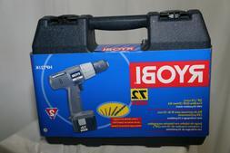 New Ryobi 7.2 volts hp721k Cordless drill set charger adapte