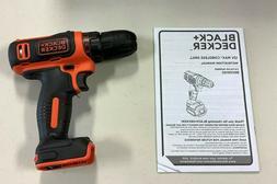 """NEW - Black & Decker 12V 12 Volt Max Lithium BDCDD12 3/8"""" Dr"""