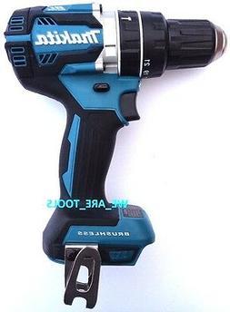 "New Makita Brushless 18V XPH12 LXT Cordless 1/2"" Hammer Dril"