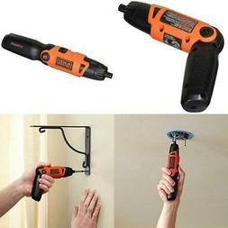 NEW CORDLESS LITHIUM ION RECHARGABLE ELECTRIC SCREWDRIVER PO