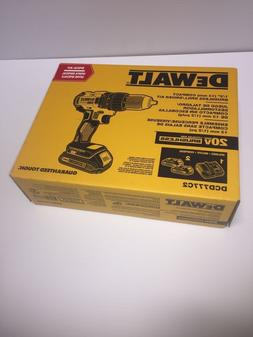 DeWalt New DCD777C2 20v Compact Brushless Drill/Driver Kit M