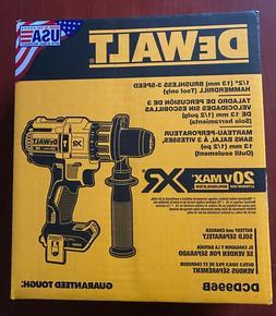 NEW DeWalt DCD996B 20V Max XR Brushless Cordless 1/2 Hammer