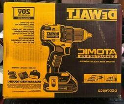 NEW DeWALT DCD708C2 ATOMIC 20V MAX 1/2 in CORDLESS  Brushles