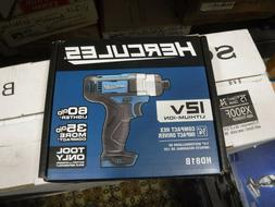 """*NEW* HERCULES 12V Lithium-Ion Cordless Compact 1/4"""" Hex Imp"""