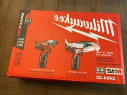 *NEW* Milwaukee M12 Cordless Drill Driver/Impact Driver Comb