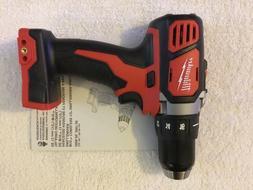 "New Milwaukee M18 2606-20 18 Volt 18V 1/2"" Drill Driver 2 Sp"