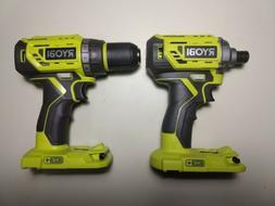 NEW Ryobi P252 18V 1/2 Cordless Brushless Drill Driver & P23