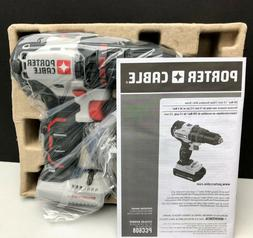 New Porter Cable PCC608 Tool Only Cordless & Brushless Drill