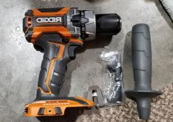 "NEW RIDGID R86116 18v BRUSHLESS 1/2"" HAMMER DRILL- TOOL ONLY"