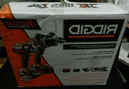 *NEW* RIDGID R9205 18V Li-Ion Cordless Brushless Drill/Impac