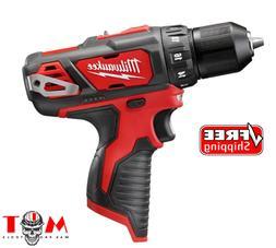 """NWT Open Box Milwaukee 2407-20 M12 12V Li-Ion 3/8"""" Drill Dri"""