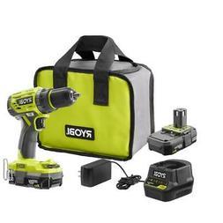 Ryobi 18-Volt ONE+ Brushless 1/2 in. Drill/Driver Kit